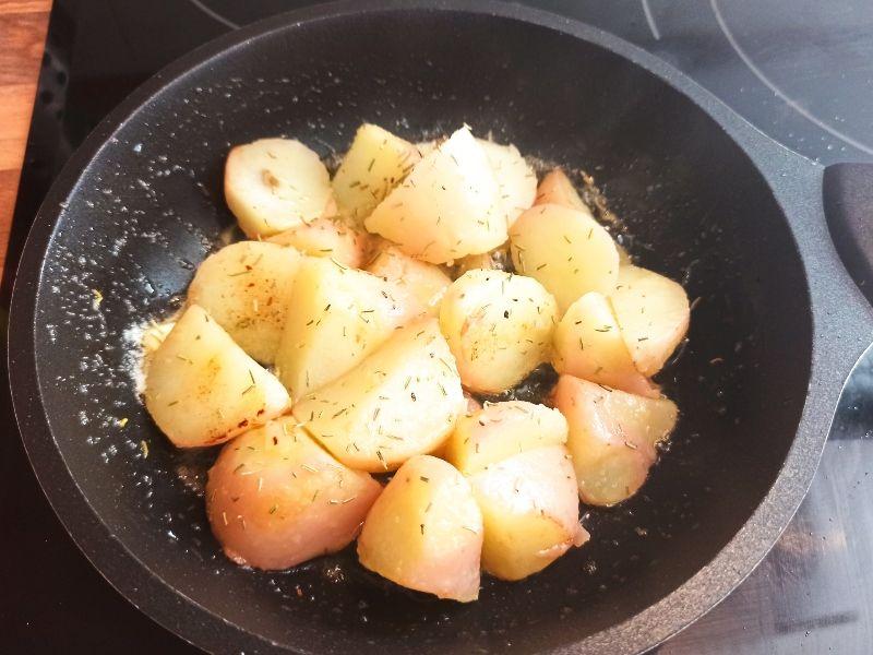 patatas guarnición presa ibérica