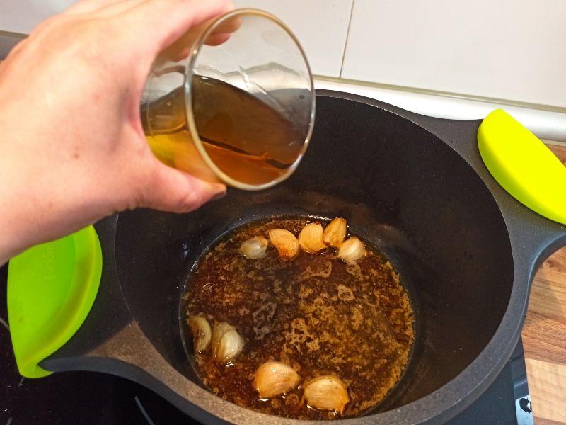 salsa de whisky presa ibérica