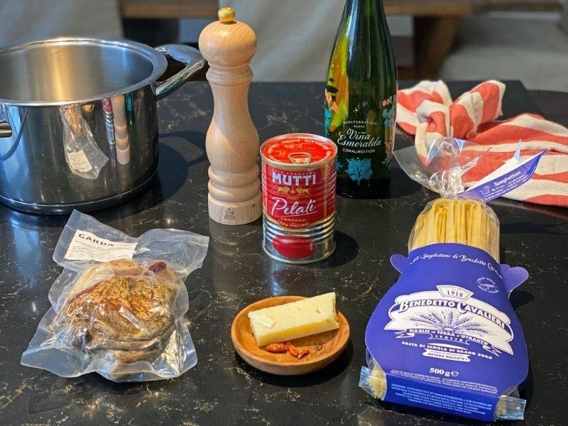 pasta amatriciana ingredientes