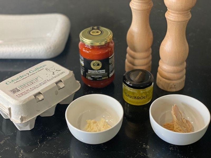 huevos rellenos de atún ingredientes