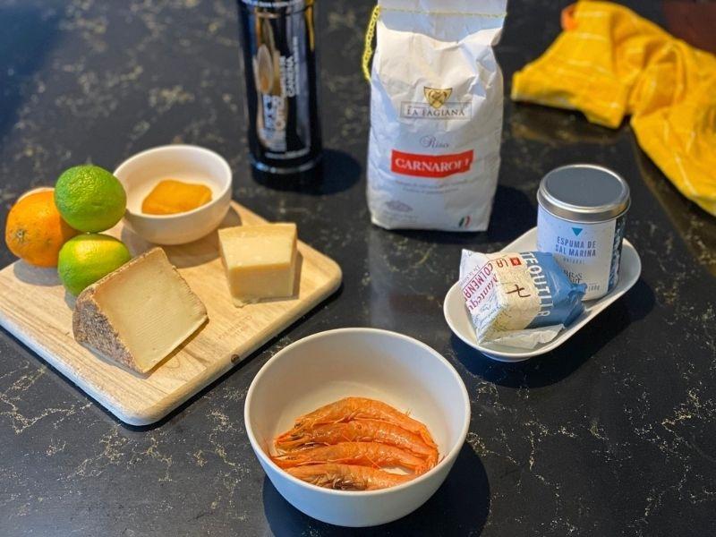 risotto parmesano ingredientes