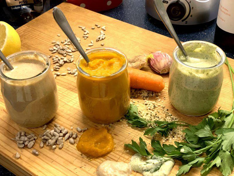 aliño saludable para ensalada