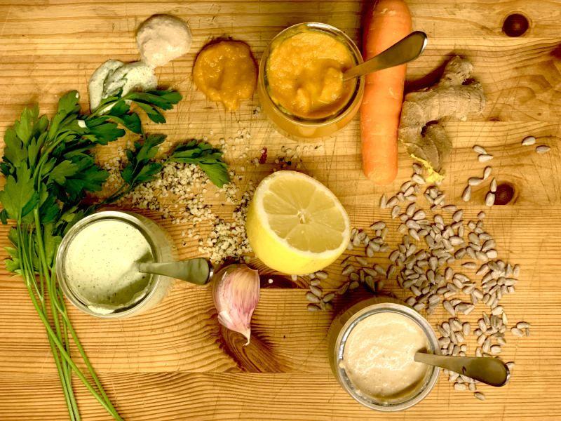 aliño para ensalada saludables