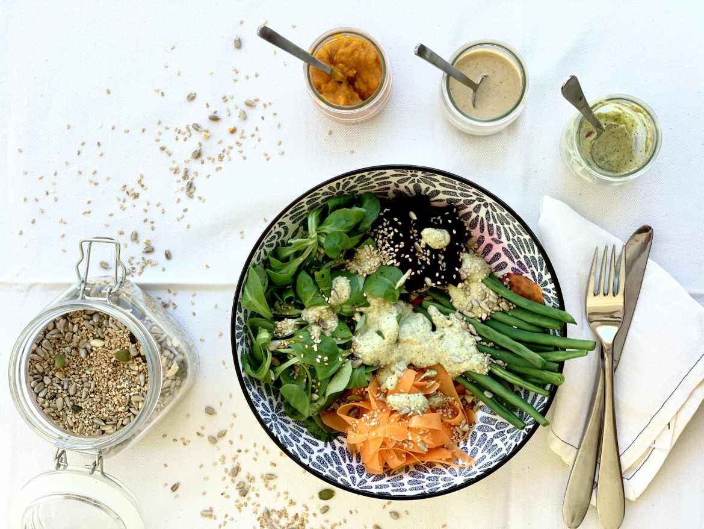 aliños para ensalada saludables y deliciosos