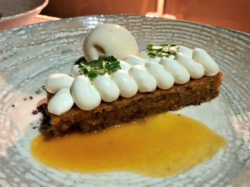 EL CUARTEL DEL MAR tarta de zanahoria