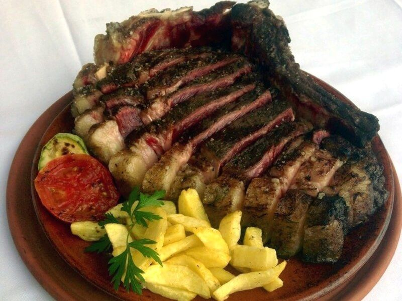 RESTAURANTES CADIZ BLANCO VERDE carne
