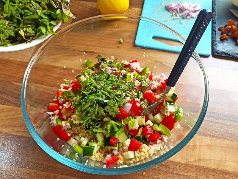 ensalada de verano elaboración