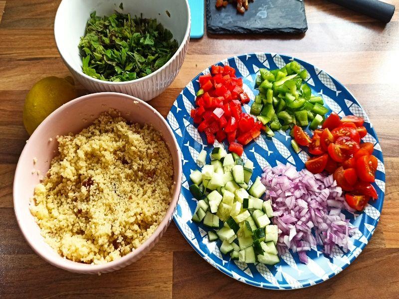 ensalada de verano ingredientes