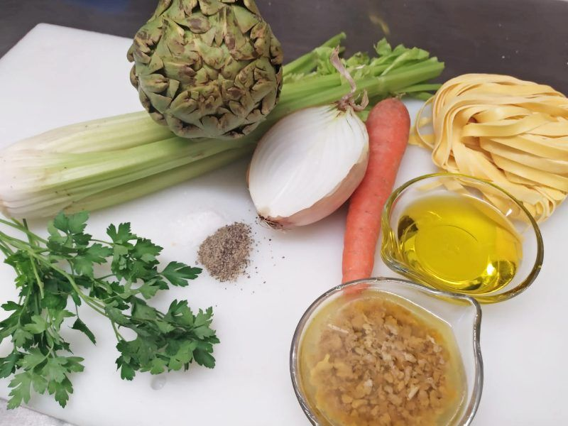 ingredientes tagliatelle ragú