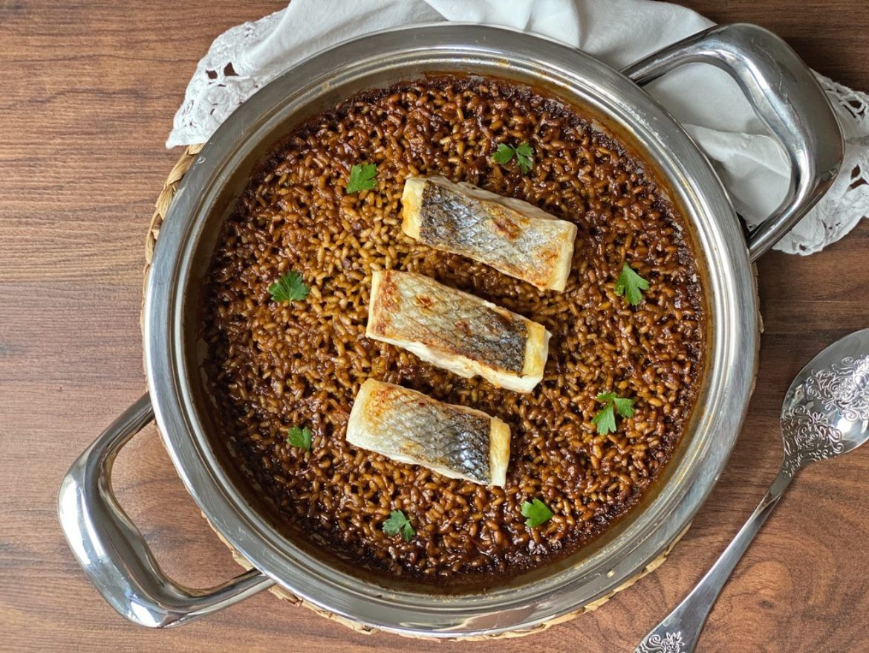 arroz con lubina