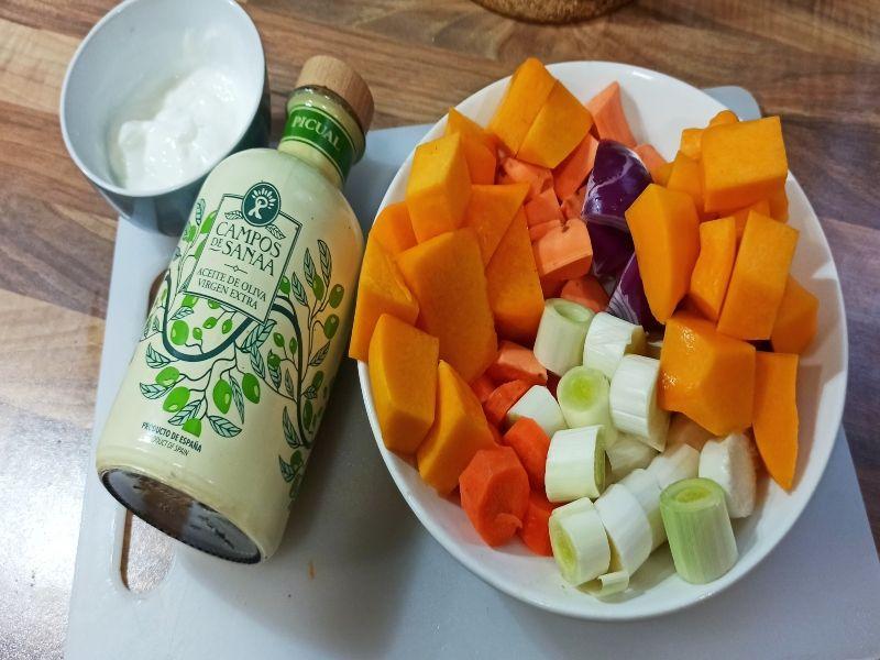 crema de verduras-ingredientes