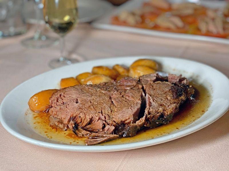 carne asada La Penela