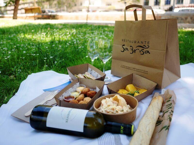 SA BRISA picnic - comida a domicilio en madrid