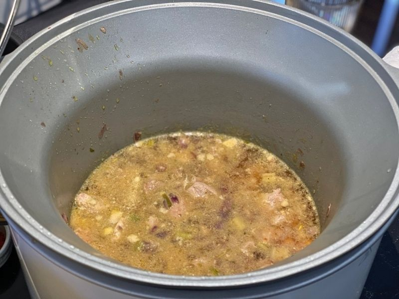 ragout de pavo Crock Pot