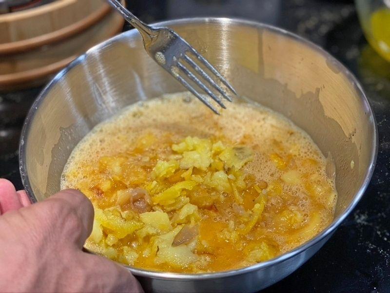 batir tortilla de patata