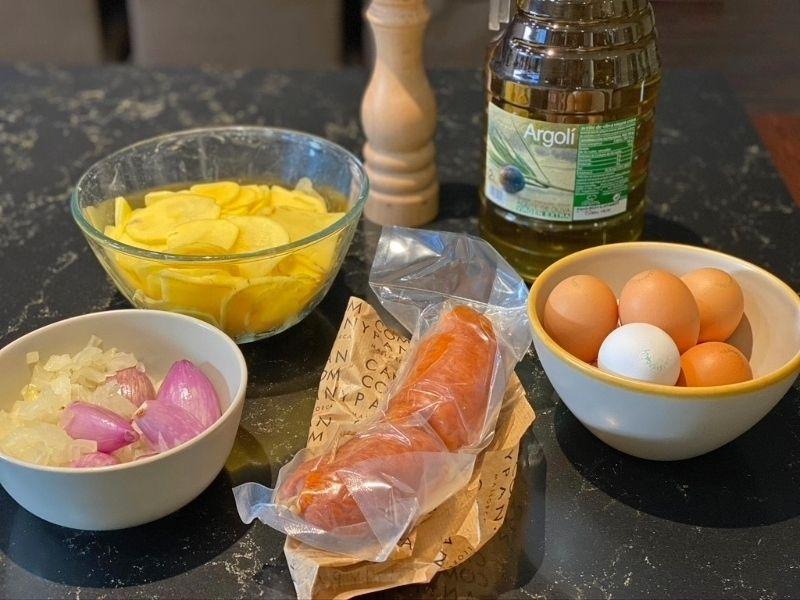 ingredientes tortilla de patata