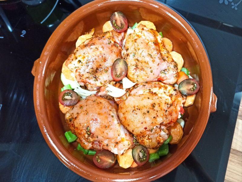 pollo asado-introducir al horno