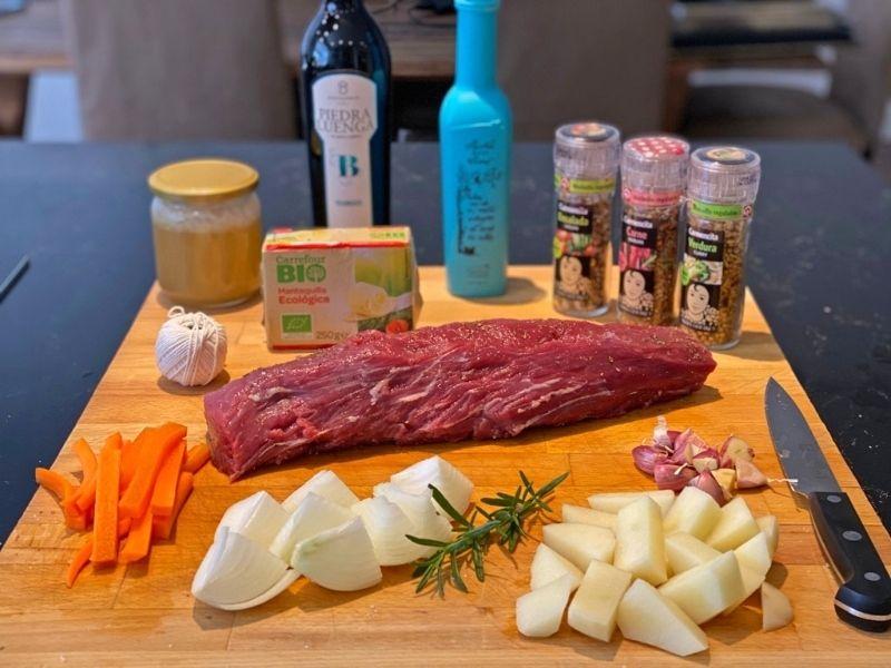 receta de chateaubriand ingredientes