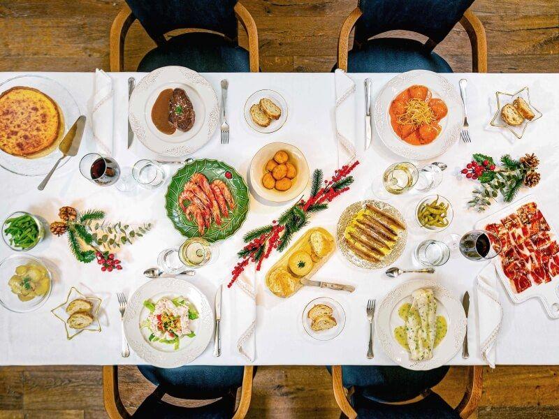 LA ANCHA - comida navideña a domicilio en Madrid