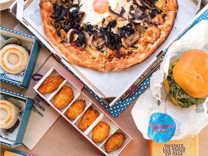 LA GRAN FAMILIA MEDITERRANEA - comida navideña a domicilio en Madrid