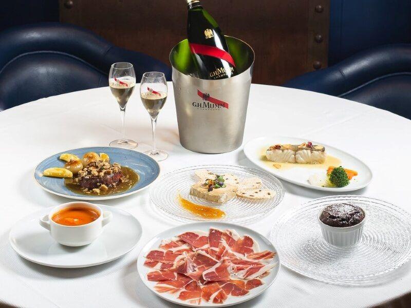 NUEVO GERARDO menu160 - comida navideña a domicilio en Madrid