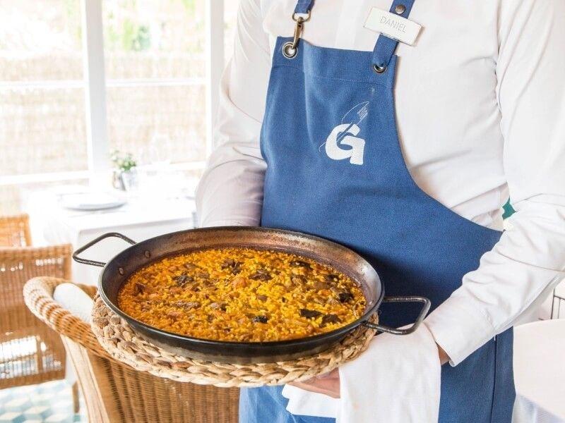 NUEVO GERARDO arroz - comida navideña a domicilio en Madrid