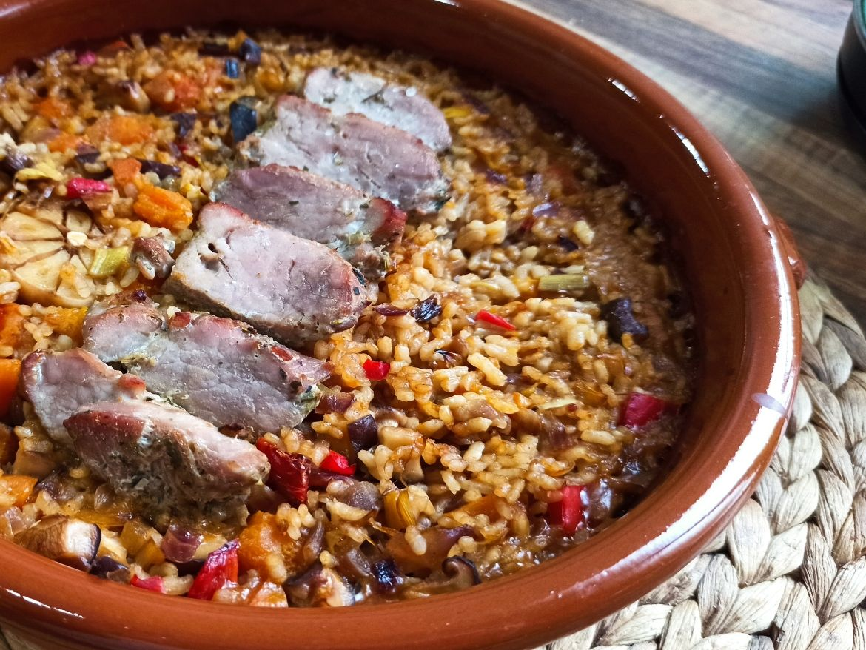 arroz con solomillo-Principal