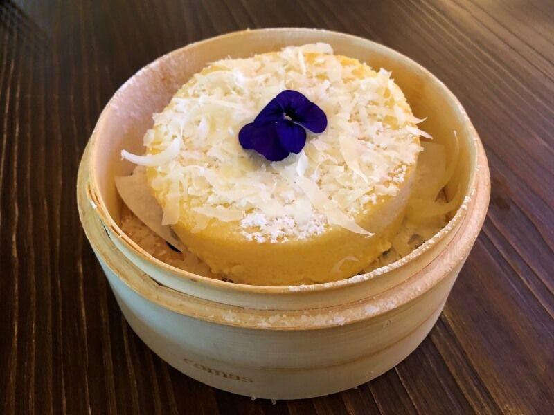 RESTAURANTE UMO tarta de queso