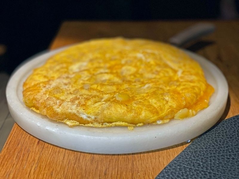 la tortilla de patatas roostiq