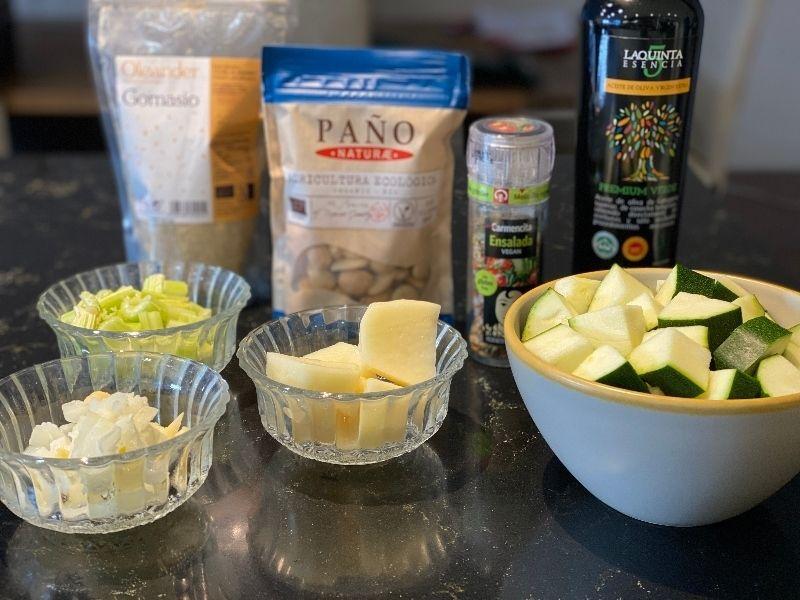 crema de calabacín ingredientes