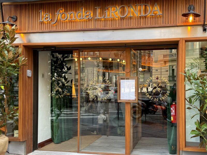 LA FONDA LIRONDA entrada