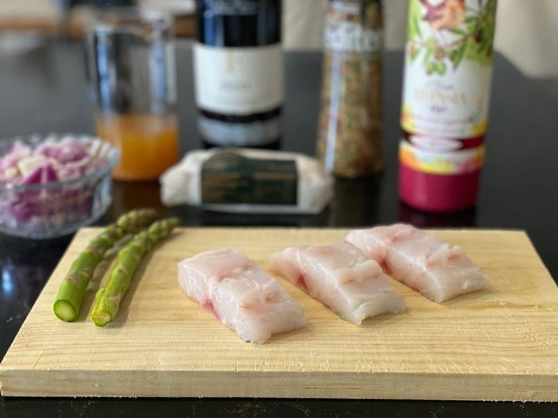 lubina a la plancha ingredientes