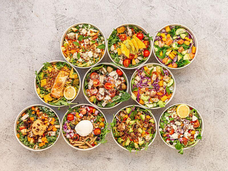 CIRCLE FOOD bowls- comida saludable a domicilio en Madrid