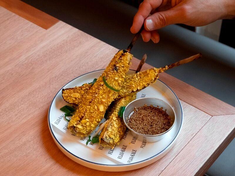 Flax and Kale berenjena - comida saludable a domicilio en madrid