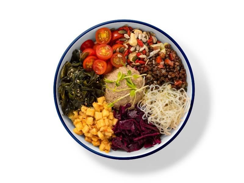 Flax and Kale poke - comida saludable a domicilio en madrid