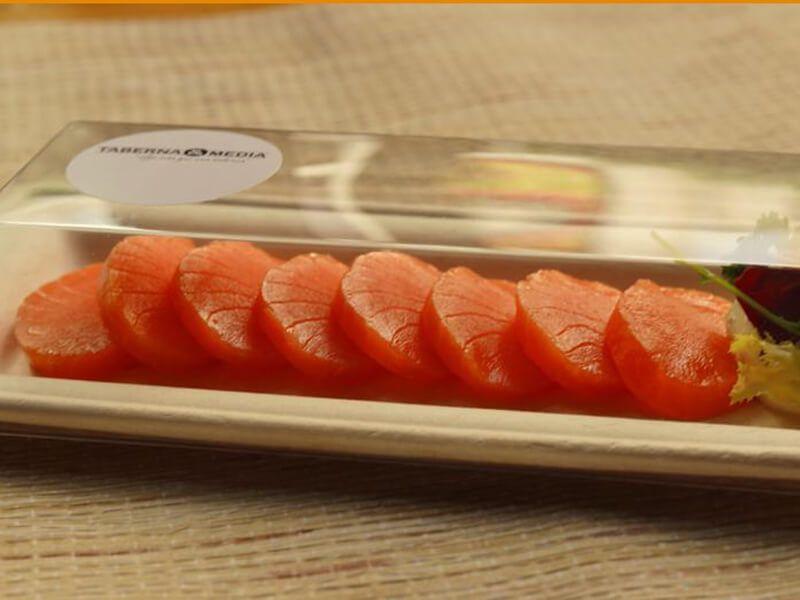TABERNA Y MEDIA salmon - comida española domicilio madrid