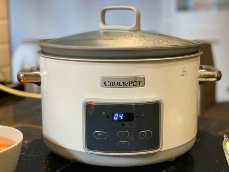 lentejas con verduras en crock pot