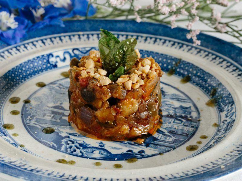 Progetto Allegra caponatta siciliana - comida italiana a domicilio en Madrid