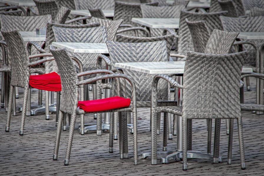 material de hostelería terraza