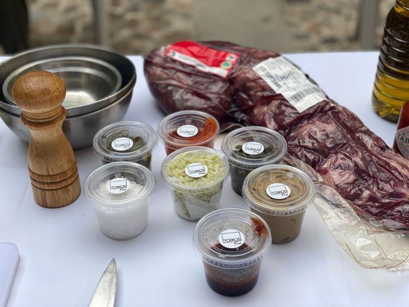 ingredientes receta steak tartare