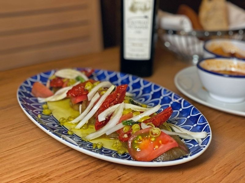 platos del restaurante candeli madrid