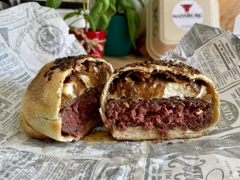 MASSBURG cabramelo PX- Hamburguesa a domicilio en Madrid