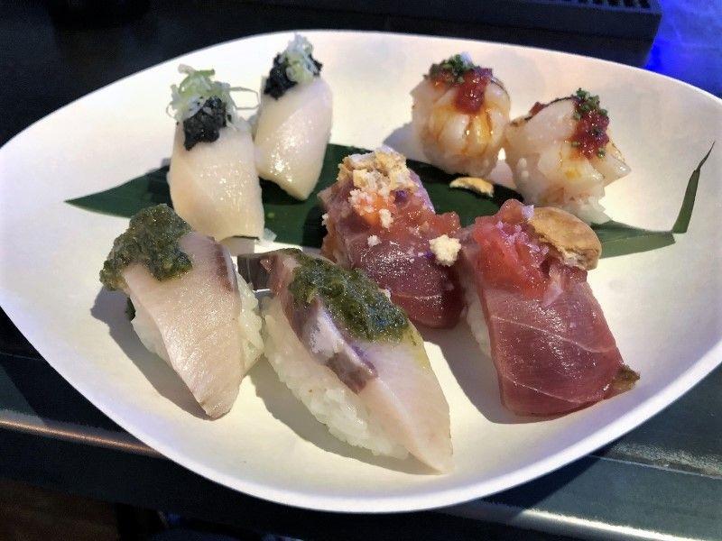 KIGEN SUSHI nigiris- comida japonesa a domicilio en Madrid