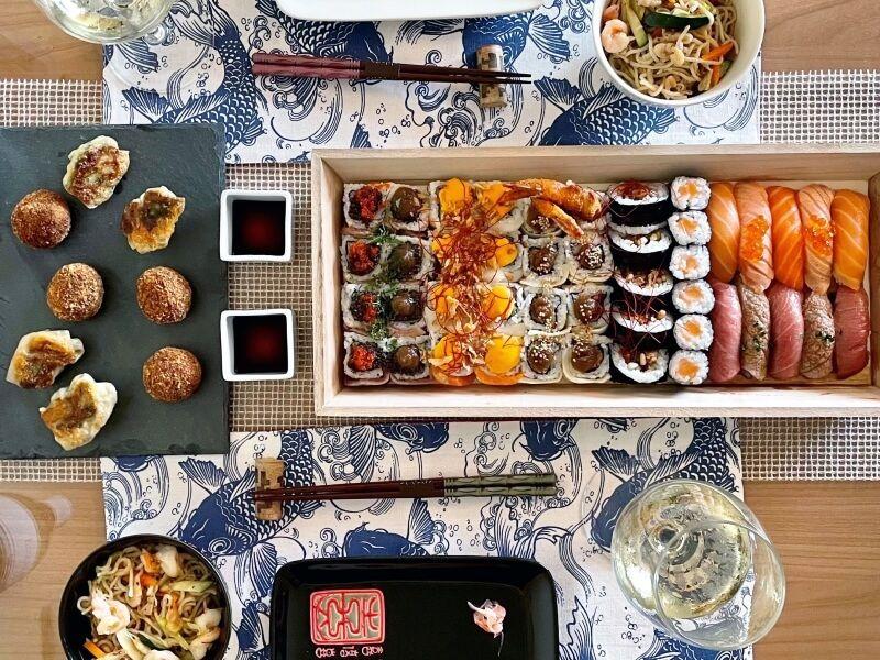 NOMOMOTO Sushi - comida japonesa a domicilio en Madrid