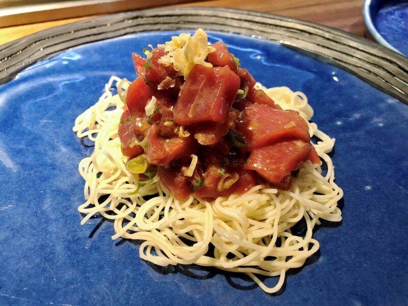 UMIKO boloñesa de atún - comida japonesa a domicilio en madrid.jpg