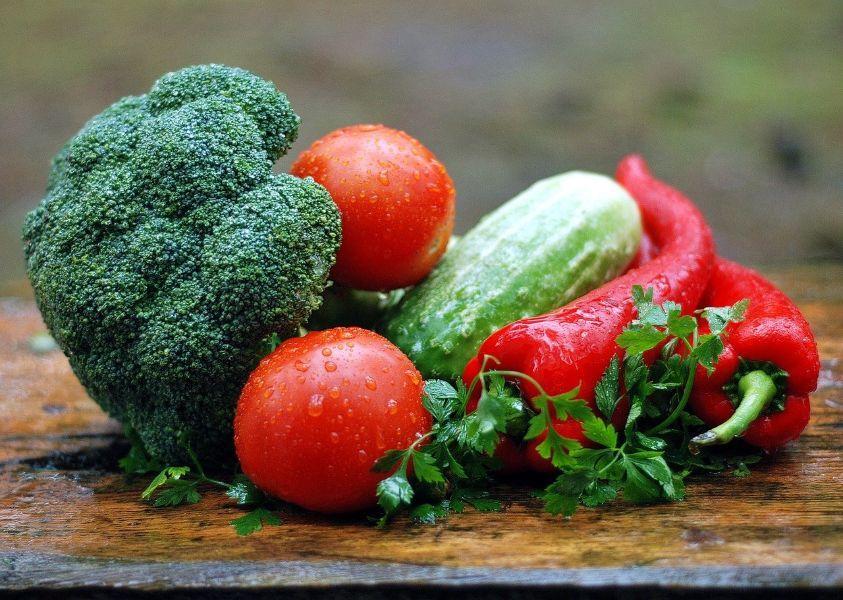 verduras con garbanzos