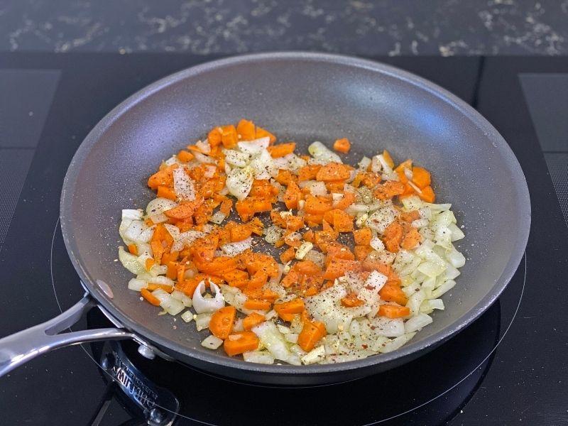 ingredientes espaguetis de calabacín a la boloñesa