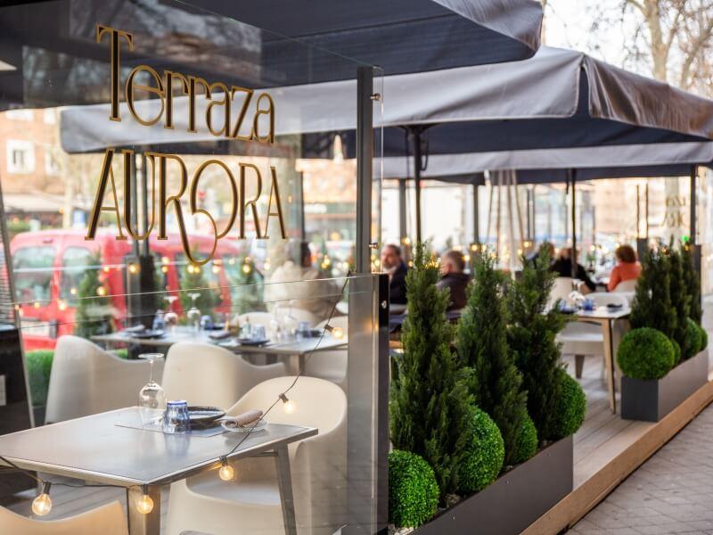 AURORA - Mejores terrazas de Madrid
