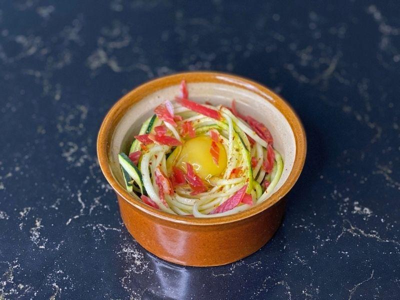 recetas calabacín huevos