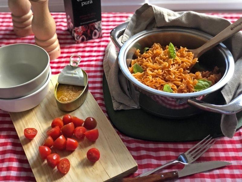 recetas de ensaladas pasta lentejas